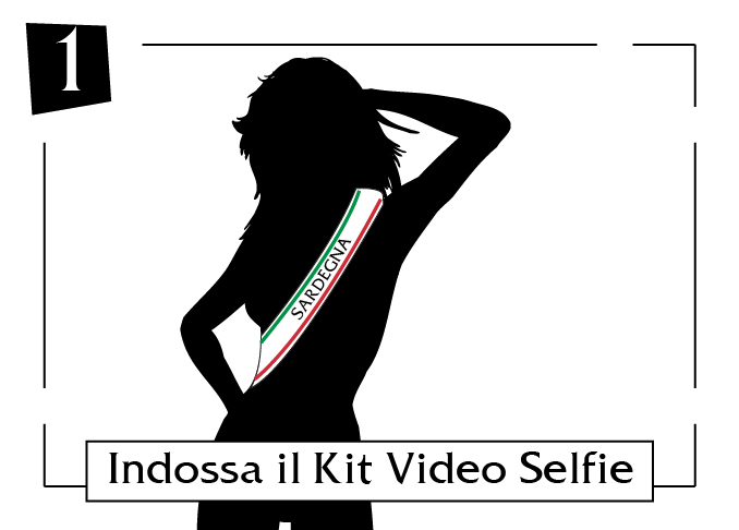 kit video selfie - sardegna